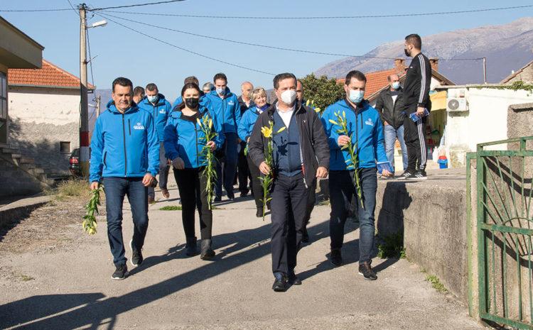 Kandidati Koalicije za Mostar u Bijelom Polju
