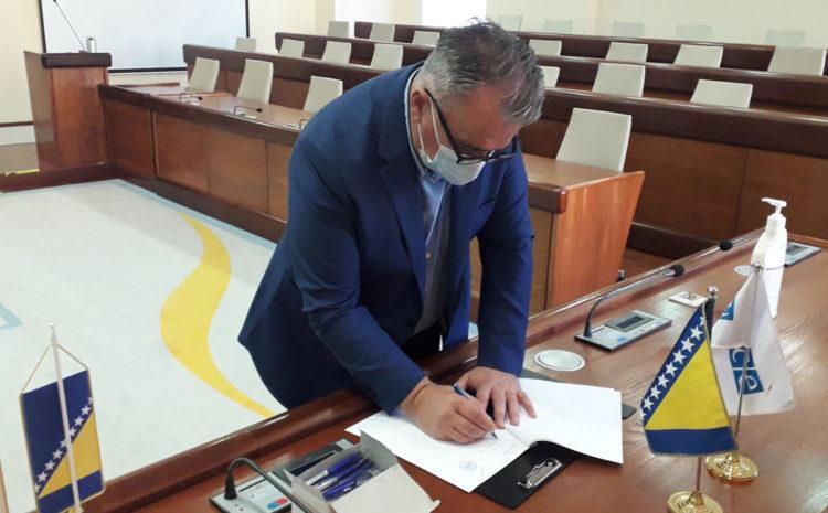 Kordinator Koalicije za Mostar 2020 potpisao izborni etički kodeks