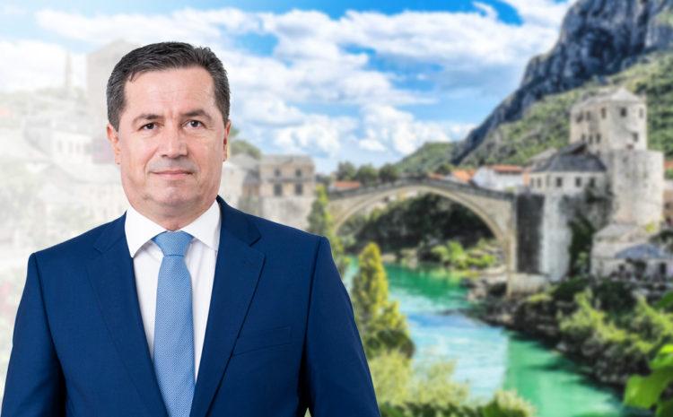 Imamo jasan plan za Mostar, pozivam građane da masovno izađu na izbore