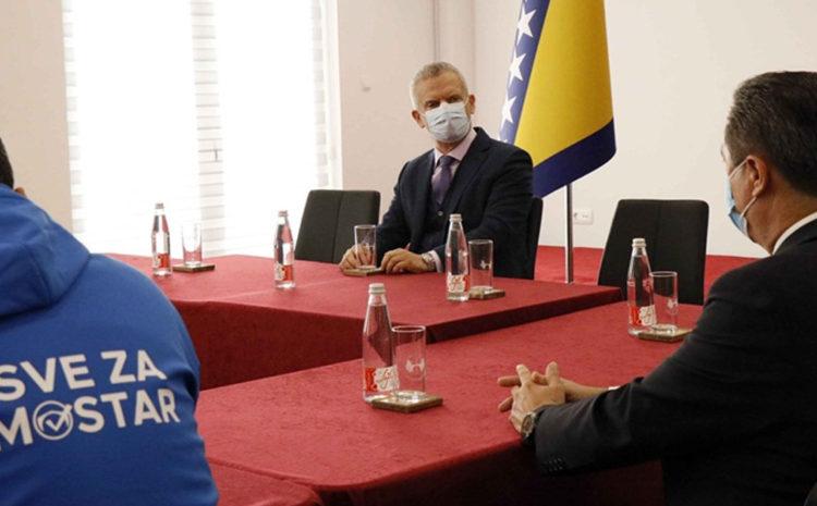 Radončić: Koalicija za Mostar može dati novu snagu jedinstvenom Mostaru