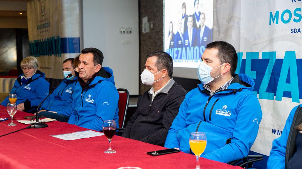 Koalicija za Mostar je snaga i sigurnost za nadolazeće izbore
