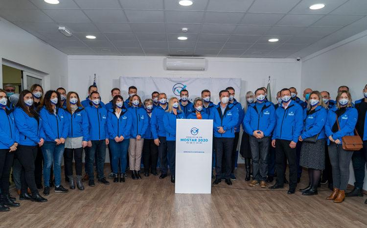 Konferencija za medije Koalicije za Mostar 2020