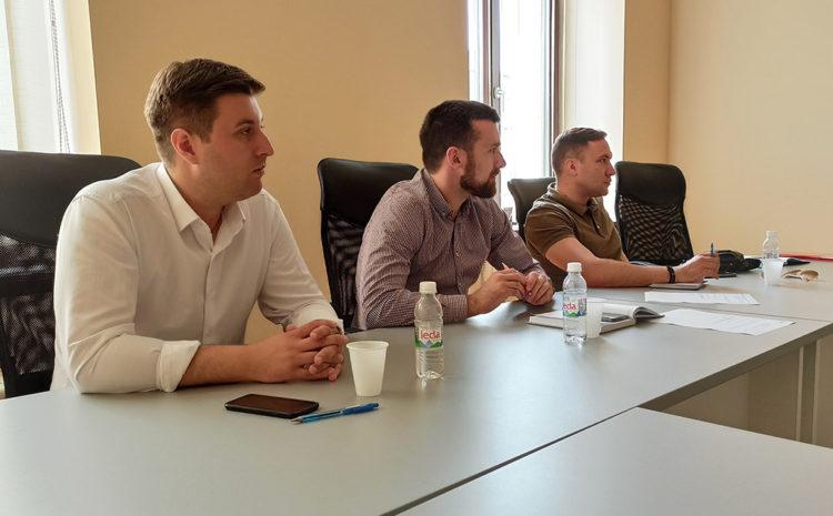 Vijećnici Pandur i Nazdraić održali sastanak sa predstavnicima Omladinske banke Mostar