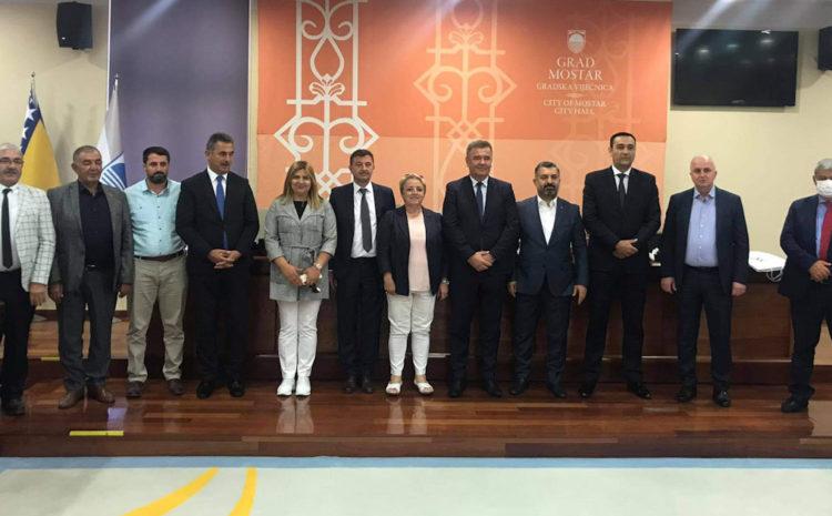 Delegacija Grada Mostara ugostila predstavnike Općine Mamak